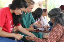 Health Camp at Kot Danda