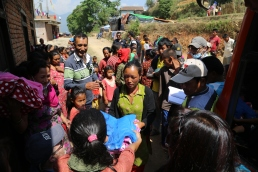 Relief Supplies Distribution